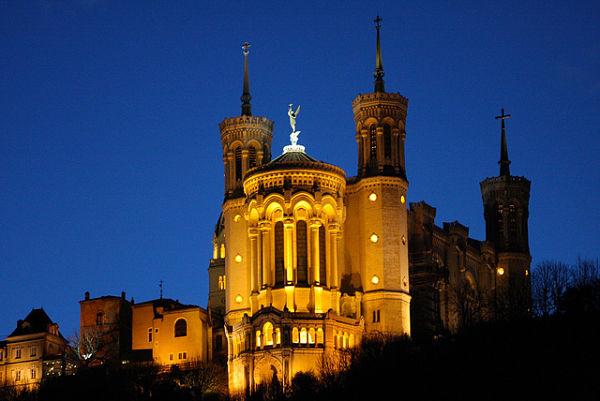 basilica Fourviere Lyon