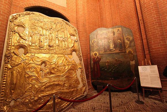 Imagen del interior de la Catedral de San Basilio