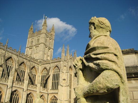 Imagen de la abadía de Bath, Reino Unido