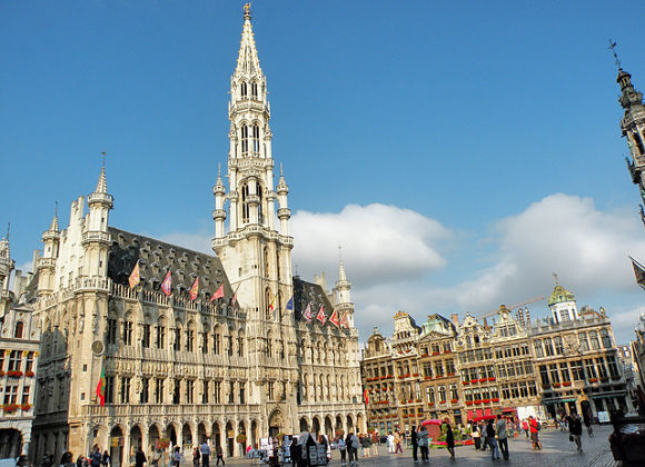 Ayuntamiento de Bruselas en Grand Place