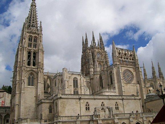 Fotografía de la Catedral gótica de Burgos