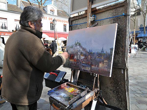 Montmartre Paris Francia