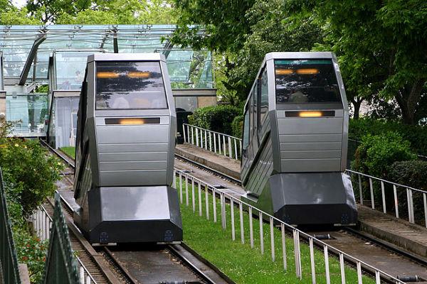 Montmartre Paris funicular