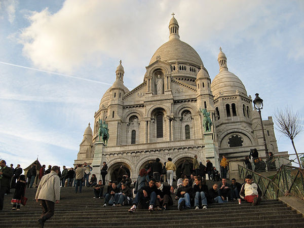 Montmartre paris sagrado corazon