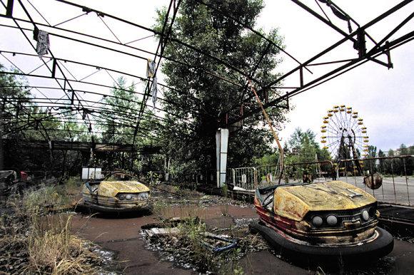Abandono en Pripyat. Cuando la gente se va de los parques de atracciones