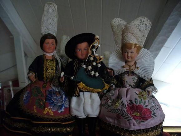 Algunos de los ejemplares del Museo de Muñecas tienen siglos de antigüedad