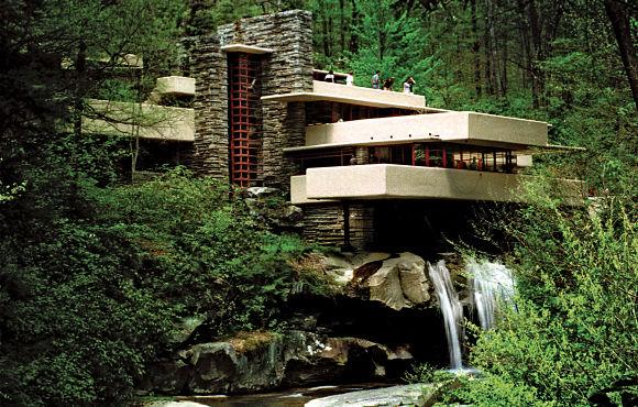 Fotografía de la Casa de la Cascada