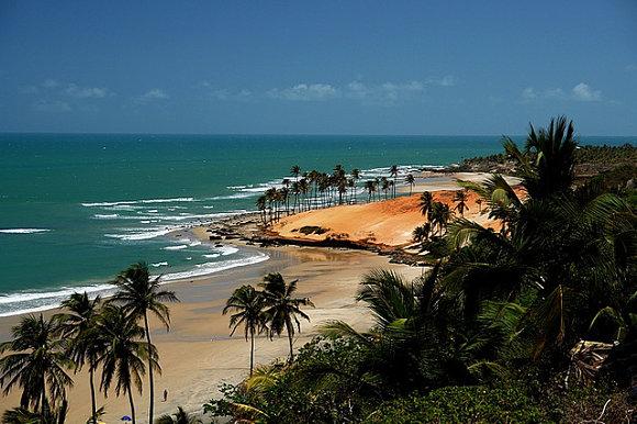 Las playas de Fortaleza se caracterizan por su increíble belleza