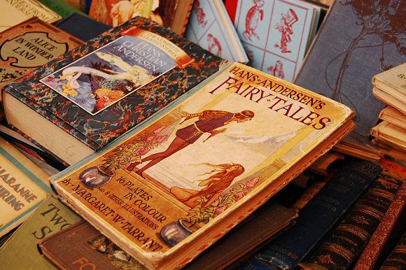 Los libros usados, son algunos de los artículos más vendidos en Portobello Road