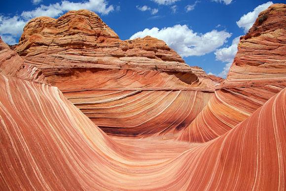 Fotografía de la fascinante Ola del Desierto de Arizona