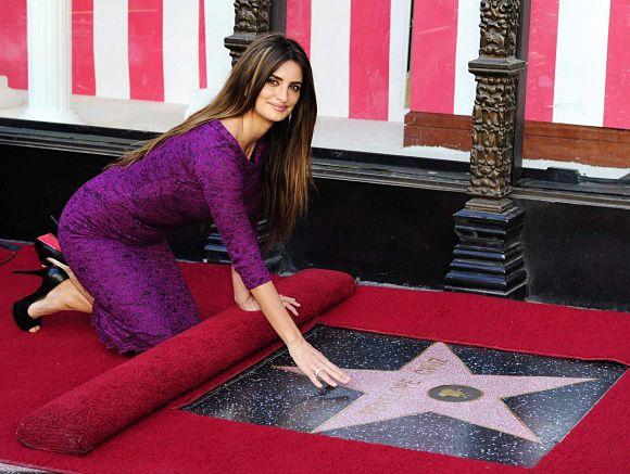 Penélope Cruz, que ya cuenta con una estrella en el Paseo de la fama de Hollywood, será una de las primeras en tener su estrella en Madrid