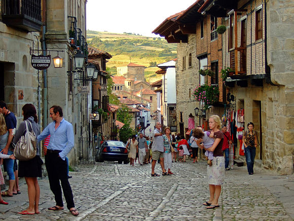 Calles de Santillana del Mar