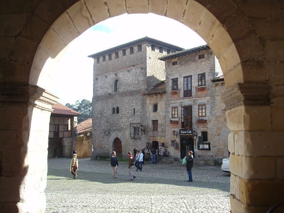Plaza de Santillana del Mar