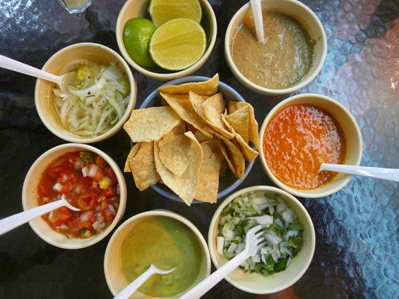 Todas las salsas mexicanas encuentran atractivo cualquier variedad de chile