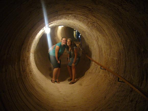 En Coober Pedy, Australia, podemos conocer sus entresijos a través de túneles