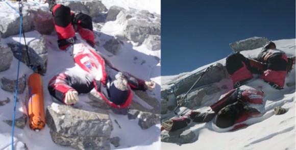 Los cuerpos sin vida se están amontonando en la cumbre más alta del mundo, el Everest