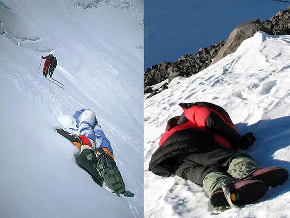 Ver cadáveres en la subida al Everest es muy común