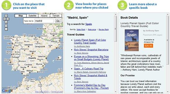 En JungleThingy, a través de tres pasos, encontraremos todo tipo de publicaciones para viajeros