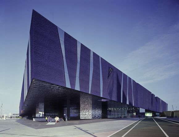 Fachada exterior del Museo Blau, el Museo de Ciencias Naturales de Barcelona