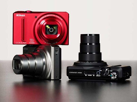 Imagen de cámara digital Nikon Coolpix S9100