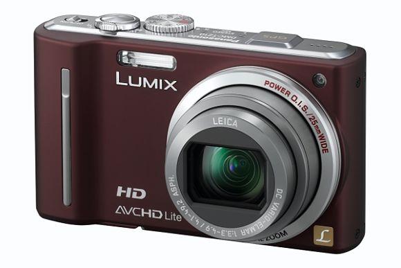 Fotografía de la cámara digital compacta para viajeros Panasonic DMC-TZ10EG