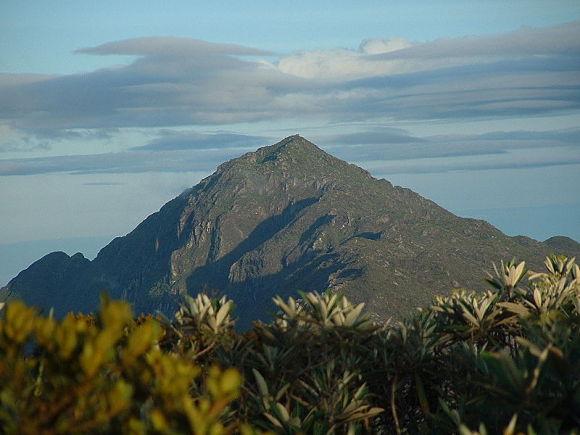 El Pico Naiguatá es el más alto del parque nacional El Ávila