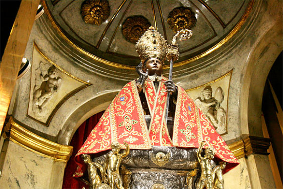 Imagen de San Fermín, el patrón de los Sanfermines en Pamplona