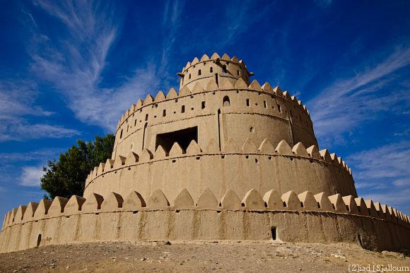 Fotografía del fuerte de Hili, uno de los sitios culturales de Al Ain