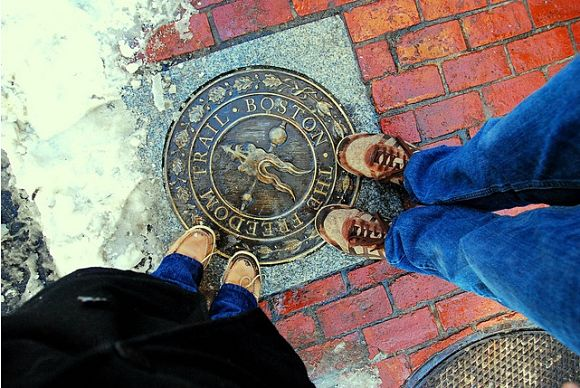 A través del Freedom Trail recorreremos más de dos siglos de la historia de Estados Unidos