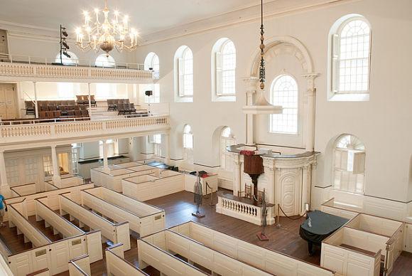 En  la Antigua Casa de Reunión del Sur se fraguó la famosa Fiesta del Té de Boston