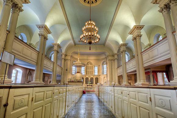 Fotografía del interior de la Capilla del Rey
