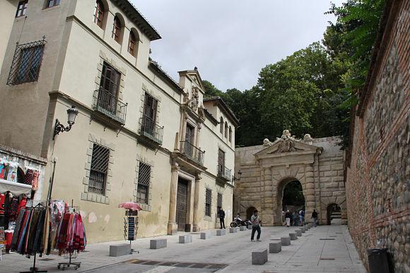 Alhambra y el generalife narrando su historia y accesos a pie for Jardines de gomerez granada