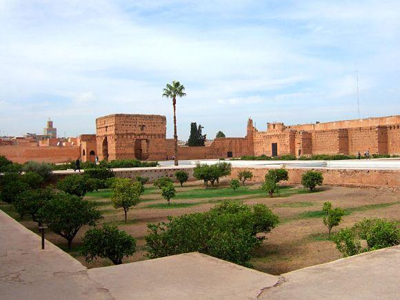 Sólo visitando el Palacio El Badi de Marrakech podremos imaginar la magnitud y majestuosidad que un día tuvo
