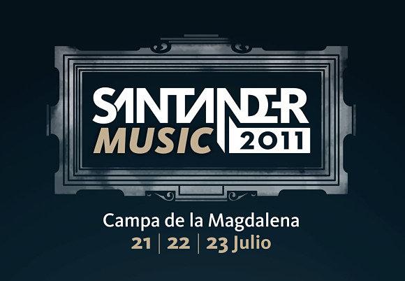 Logotipo del Santander Music Festival 2011