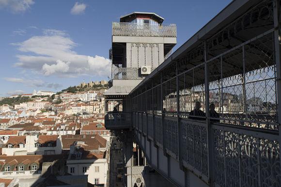 En la terraza del Elevador podremos tomar un café o simplemente disfrutar de las maravillosas vistas de la ciudad