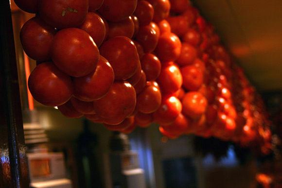 Los tomates de ristra son un ingrediente principal para preparar un buen pà amb oli