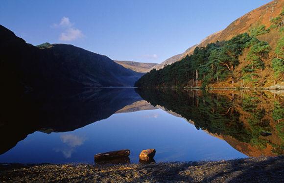 En el Lago Superior o Upper Lake encontraremos las mejores vistas de Glendalough