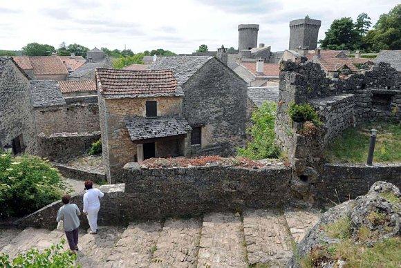Pueblo agropastoral de los valles de Causses y Cevennes al sur de Francia