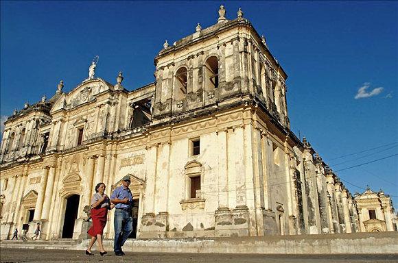 Fotografía de la catedral de León en Nicaragua, añadida en el Patrimonio Mundial de la UNESCO
