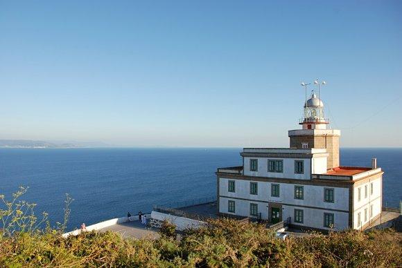 El faro de Finisterre, el segundo lugar más visitado de Galicia