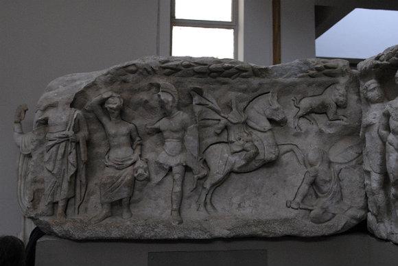 Material encontrado en Anatolia y expuesto en el museo de Éfeso