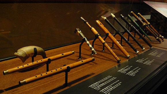 Muestra de los instrumentos que puedes ver en el Museo de Instrumentos de Música de Bruselas