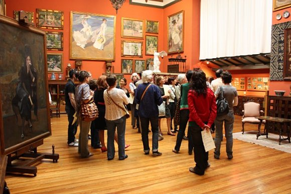 Interior del museo de Joaquín Sorolla en Madrid