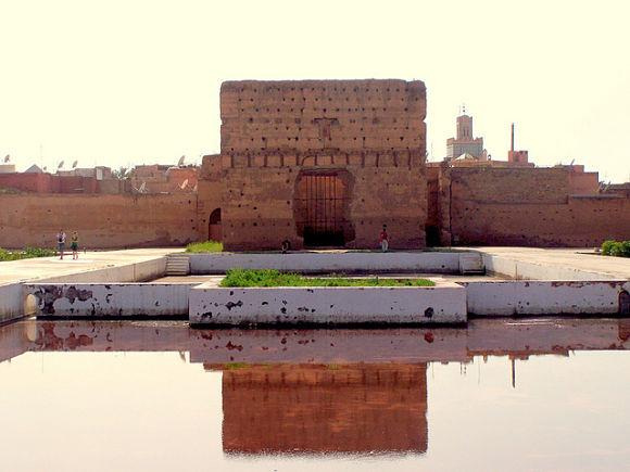 El Palacio El Badi fue un día un lugar majestuoso, pero actualmente está prácticamente en ruinas