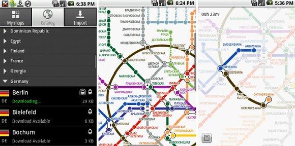 Pantallazo de la aplicación aMetro para tu dispositivo Android