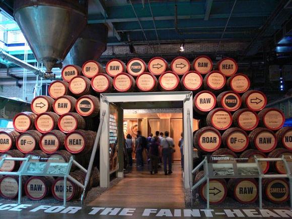 Durante el recorrido por la Guinness Store House de Dublín podremos conocer cómo es el proceso de elaboración y producción de la cerveza Guinness