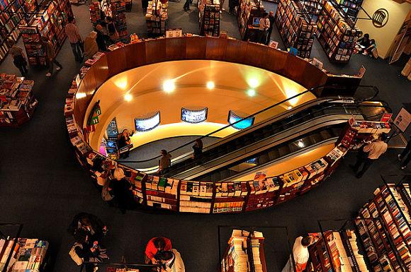 En el subsuelo de El Ateneo Grand Splendid encontraremos la sección de música, películas y libros infantiles
