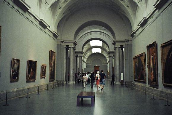 Museo del Prado interiores