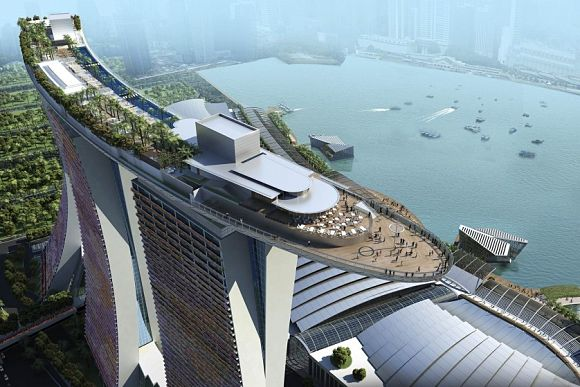 Sky Park Singapur Marina Bay Sands