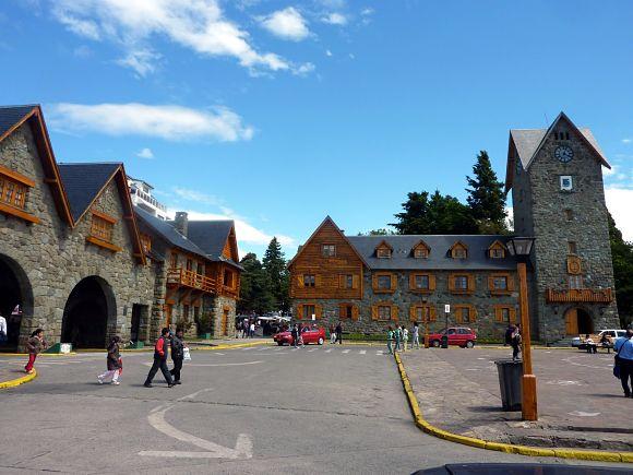 Plaza principal San Carlos Bariloche
